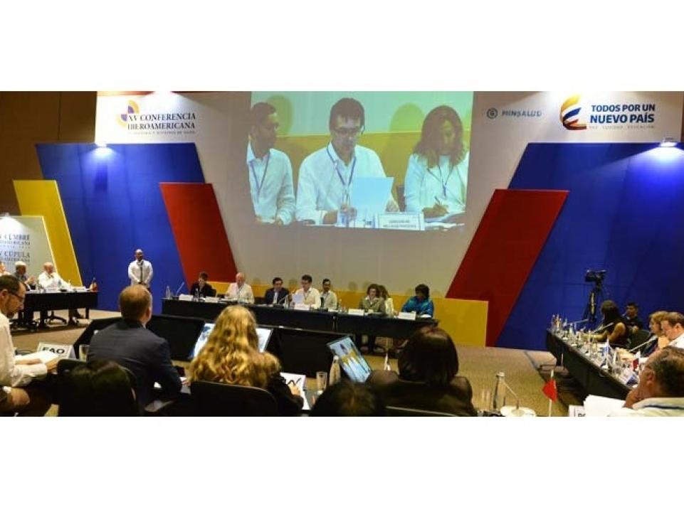 XV Conferencia Iberoamericana de Ministros de Salud
